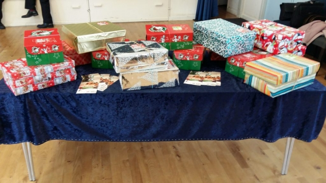 Shoeboxes for Operation Christmas Child (2)