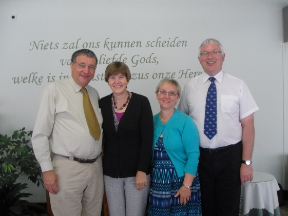 Leslie & Elizabeth Message, Missionaries with the Belgian Evangelical Alliance (2)