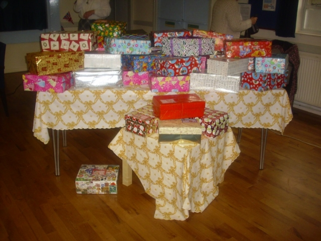 Shoeboxes for Operation Christmas Child (3)