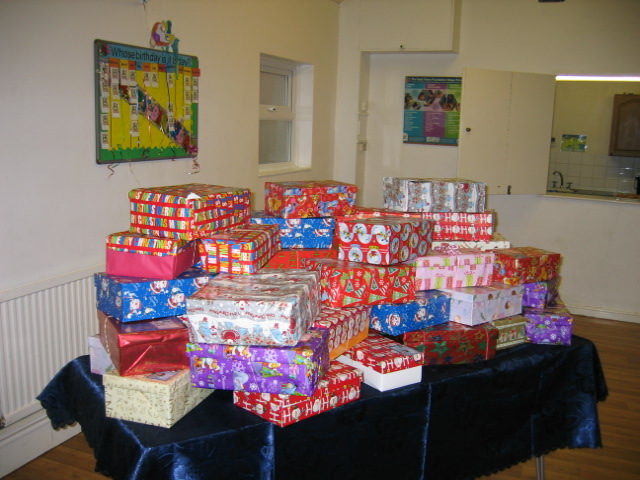 Shoeboxes for Operation Christmas Child (4)